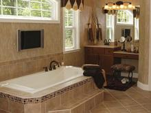 custom bathroom ceramic tile, ceramic floor tile, ceramic tile shower, ceramic tile installation, mobile showroom