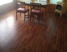 Engineer wood flooring, installation