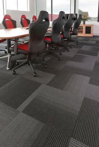 business remodel with carpet tile, carpet tile sales, carpet tile installation, new flooring